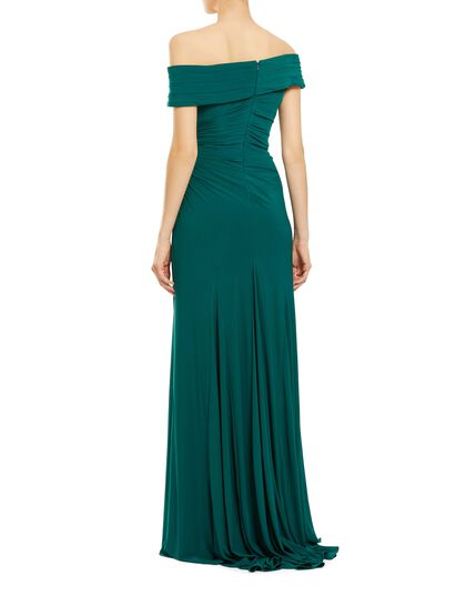 Jersey Wrap Gown
