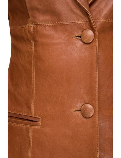Patina Leather Jacket