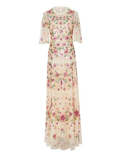 Trellis Rose Gown