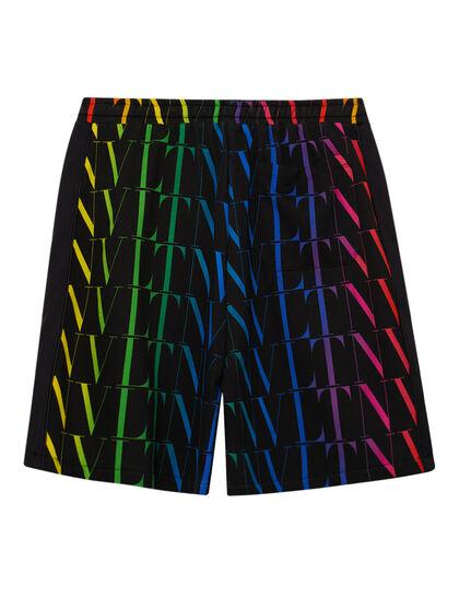 Logo Printed Bermuda Shorts