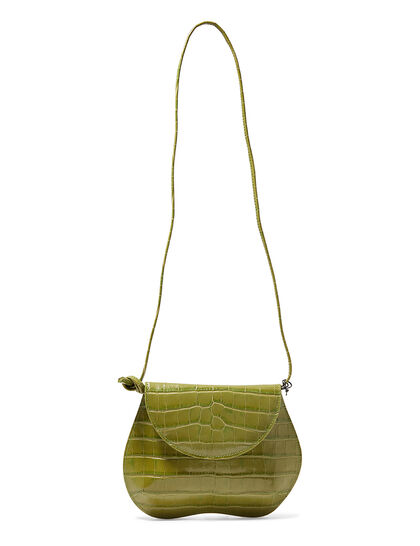 Pebble Mini Croc Bag