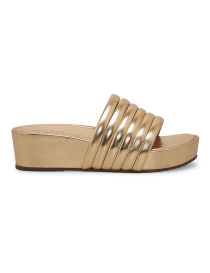 Platform Slip-On Sandals