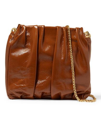 Square Vague Lambskin Shoulder Bag