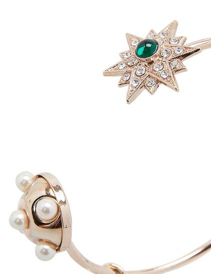 Half Sphere & Star Cuff