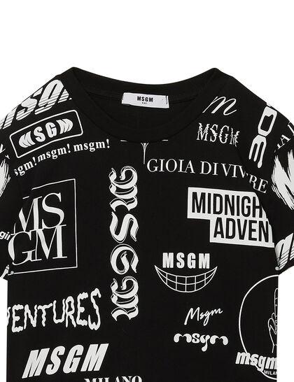 All-over Logo Print T-Shirt