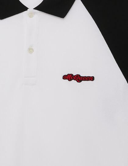 Bicolor Polo Shirt