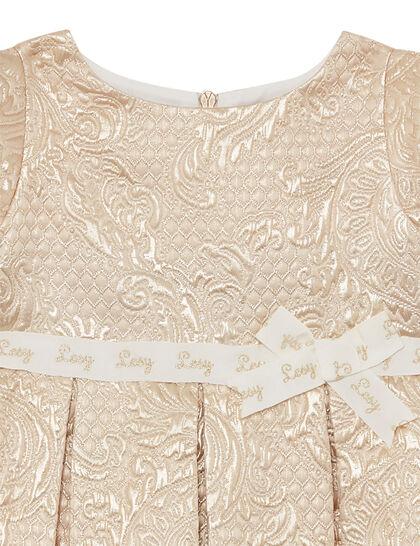 Dress Brocade Gold
