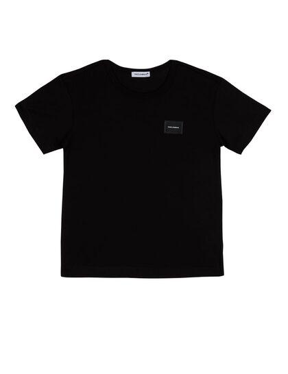 Logo Plaque Jersey T-Shirt