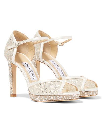 Embellished Lacia 100 Heels