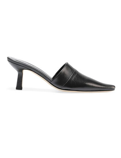Cynthia Leather Mules