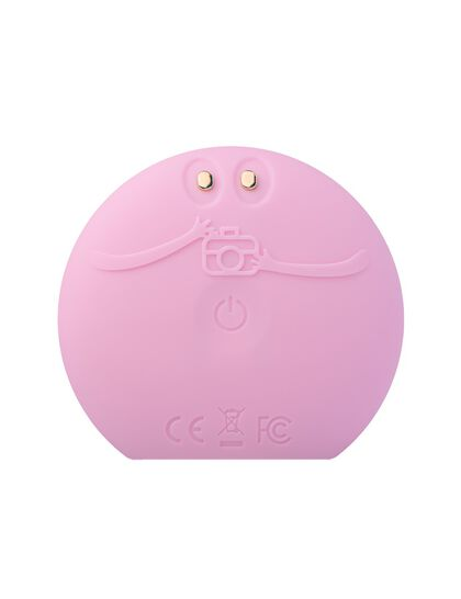 Pearl Pink LUNA fofo Smart Facial Cleansing Brush