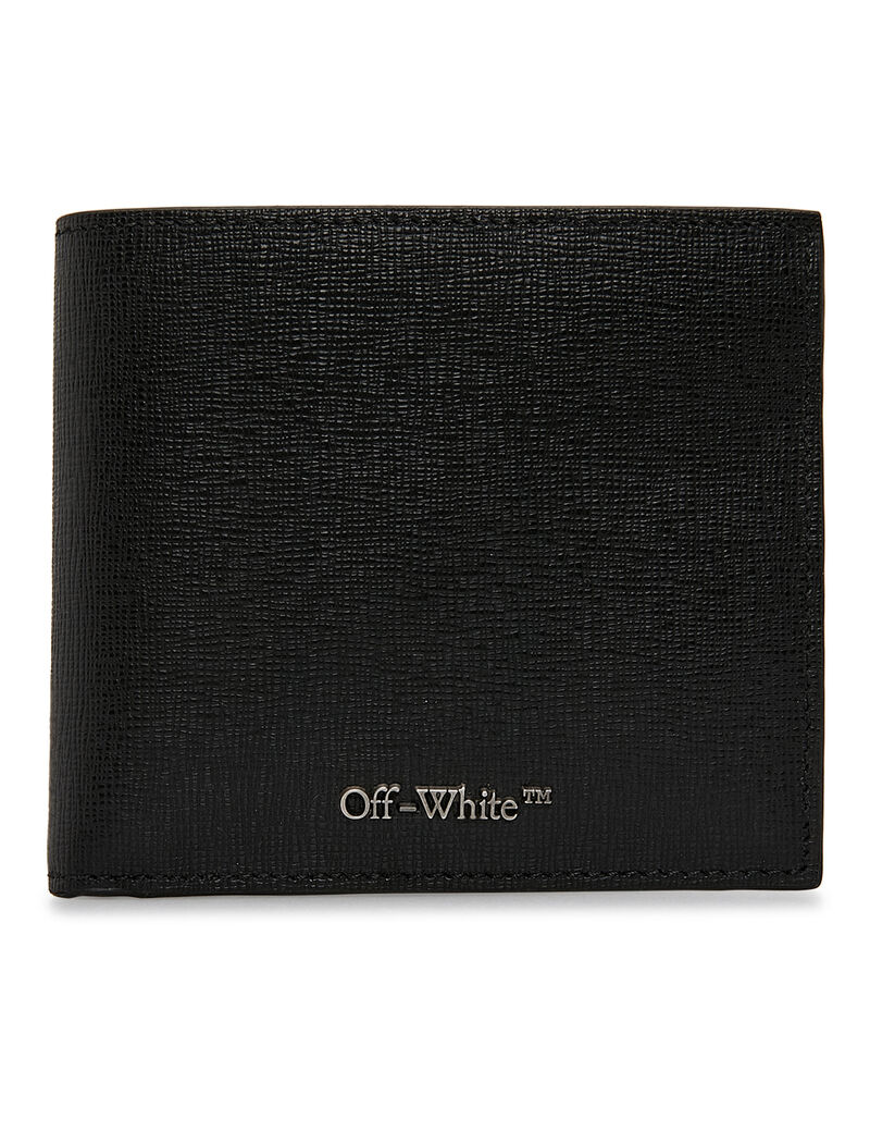 Logo Bi-fold Wallet - Black