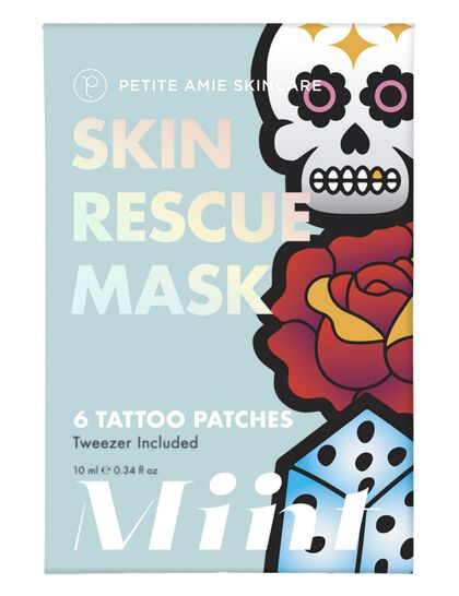 Miint Skin Rescue Mask Tattoo