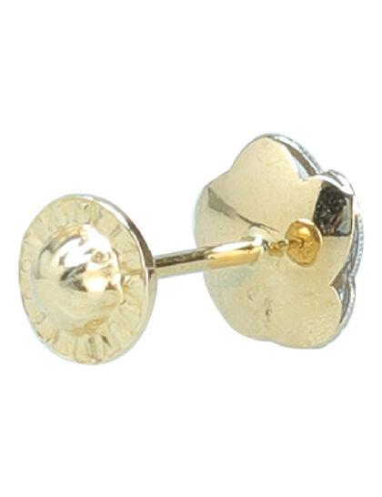 Pair Of 18 K Gold Earrings
