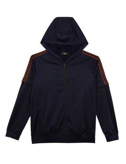 Hooded Detachable Sleeves Sweatshirt
