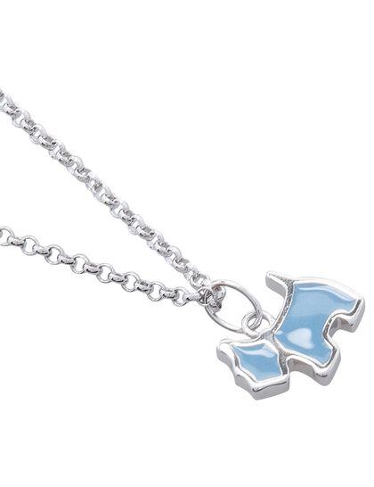 Child Necklace Enamel Scottie