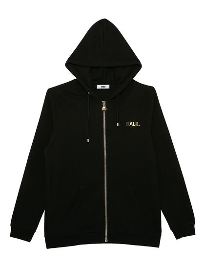 Q-Series Straight Zip Thru Hoodie