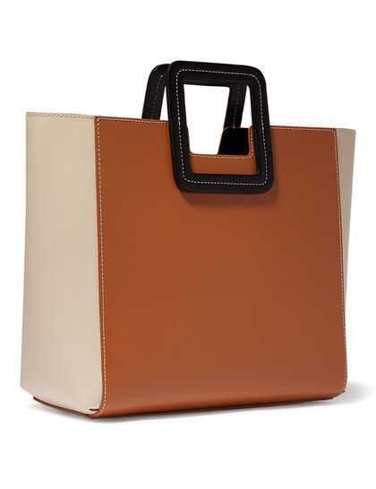 Shirley Leather Tote Bag