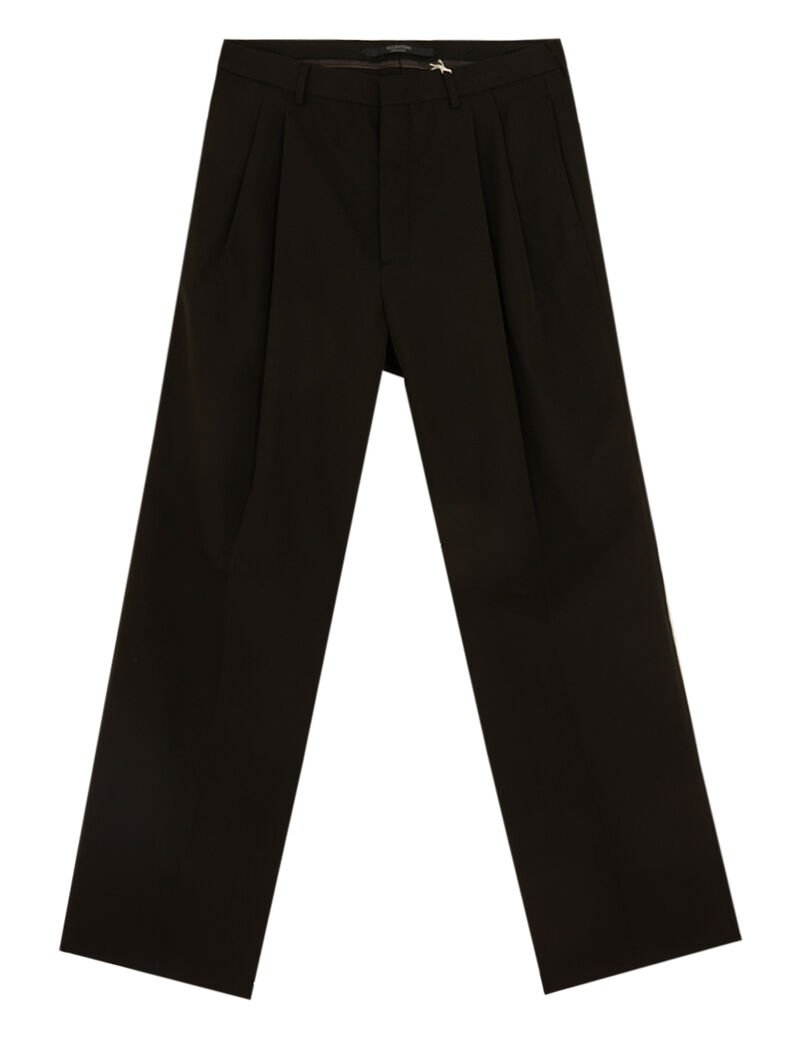 Embroidered Logo Trousers