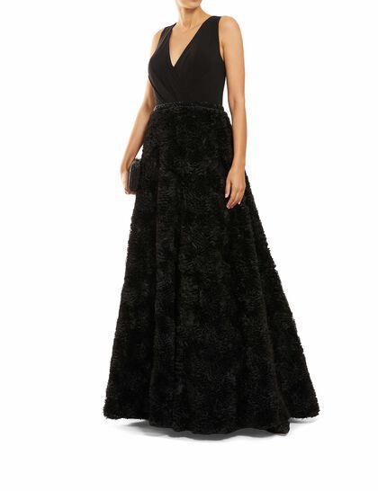 Rosette Ball Gown