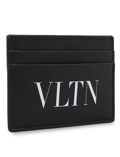 Vltn Leather Cardholder