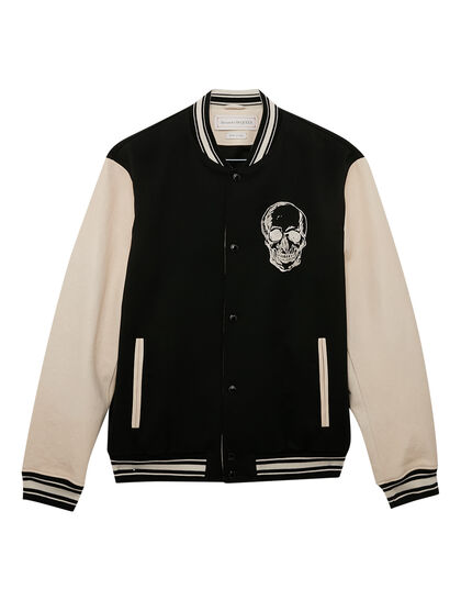 Skull Bomber Jacket