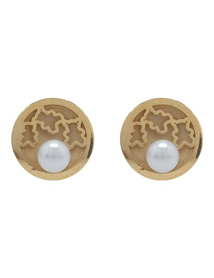 Earring Diamond - Pair Yellow Gold+Rhodium &Bril 0.73