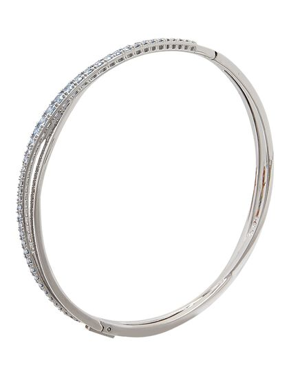 Sjc Twist Bangle Rows Czlb/Rhs Anni L