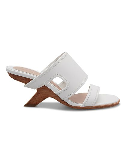 Leather Upper And So Sandal