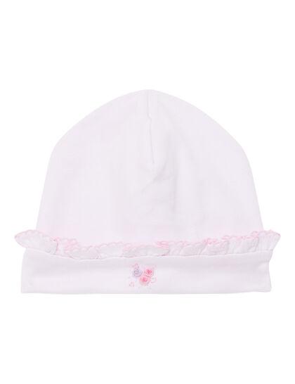 Hat W/ Hand Emb
