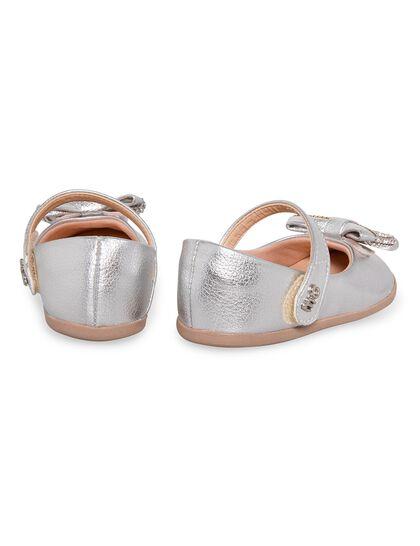 Ballerina Front Strass Bow Velcro