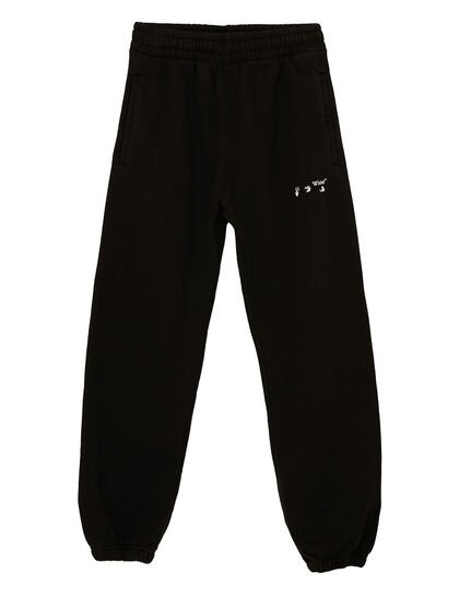 Ow Logo Slim Sweatpants