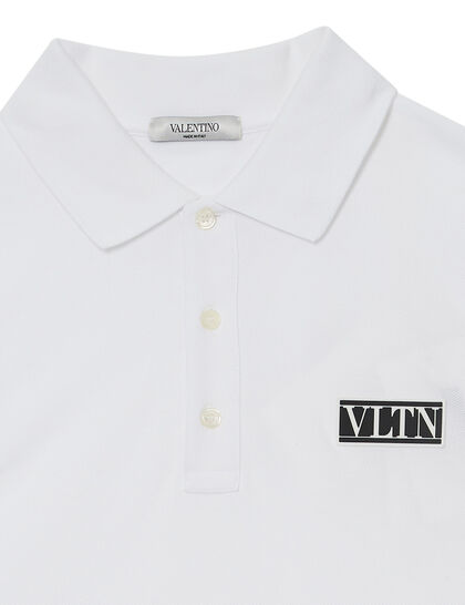 Logo Patch Polo T-shirt