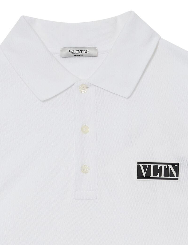 Logo Patch Polo T-shirt
