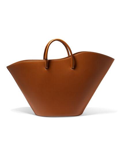 Open Tulip Large Tote Bag