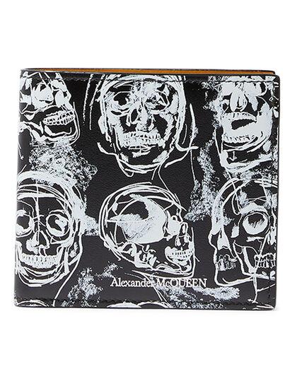 Skull Print Wallet