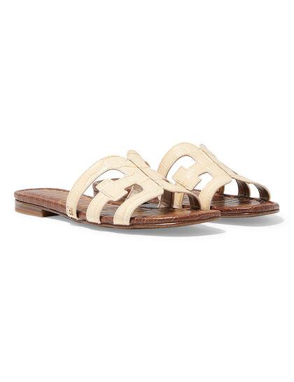 Patent Bay Slide Sandals