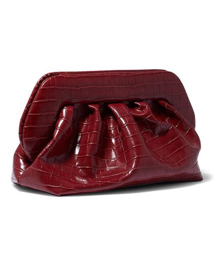Bios Croc Clutch Bag