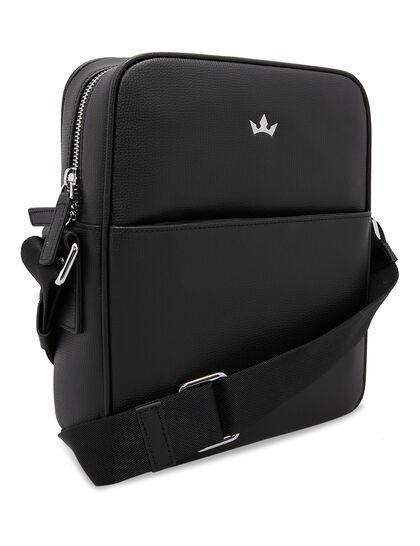 Award Messenger Bag - Italian Leather Black