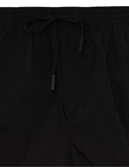 Elasticated Swimshorts - Black