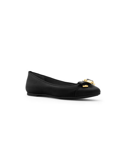 Alice Leather Ballet Flats