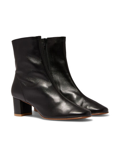 Sofia Leather Ankle Boots
