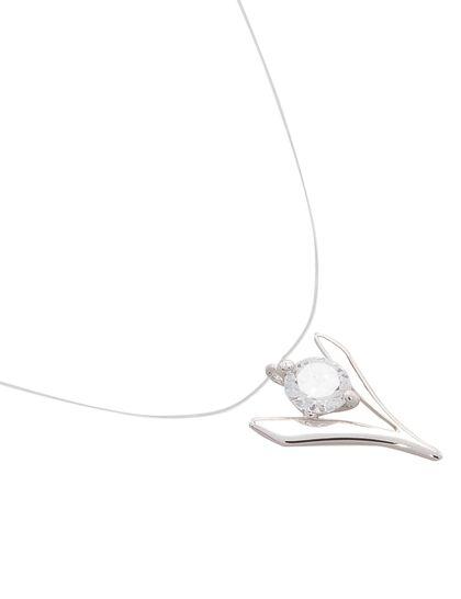 Short Necklace Transparent Thr