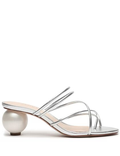 Ball Heel Sandals