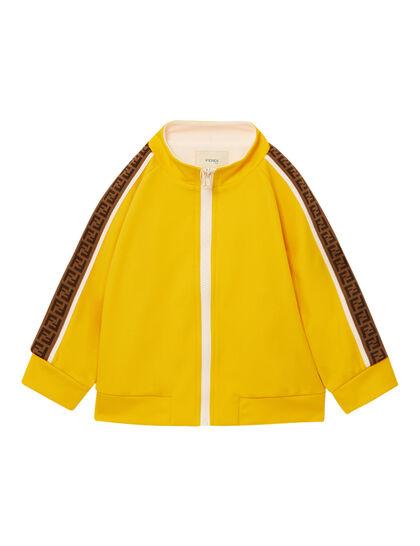 Tracksuit Jacket Nylon Ff Piping Sleeve