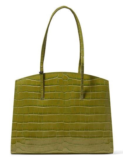 Minimal Croc Tote Bag