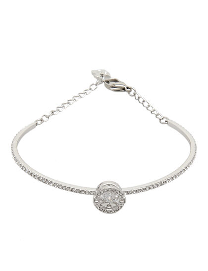 Sparkling Dc Bangle Rnd Czwh/Cry/Rhs S M