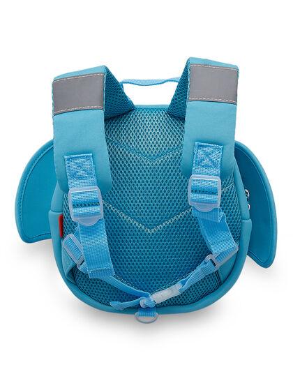 Elephant Backpack Blue, Kids Backpack-10x25x25