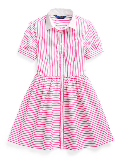 Striped Polo Dress