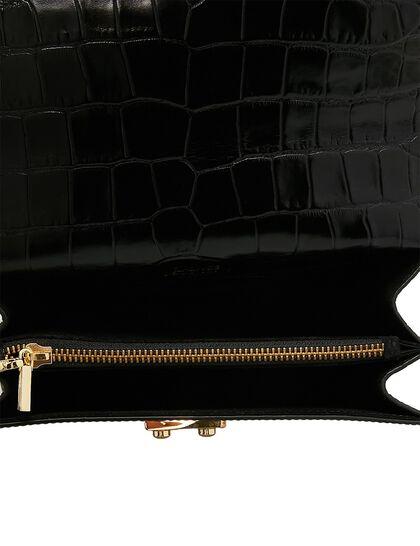Coppelia Croc, Shoulder Bag With Flap